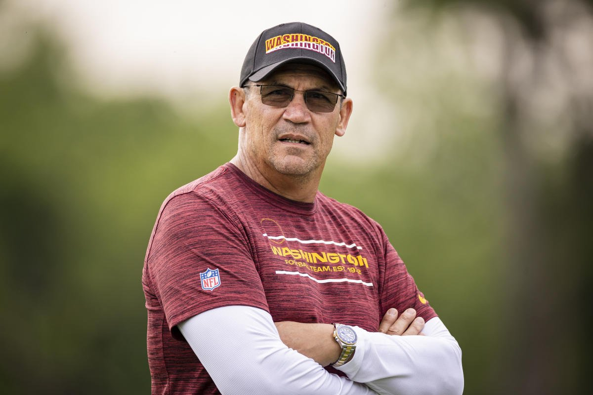 Washington coach and cancer survivor Ron Rivera 'beyond frustrated' with unvaccinated players
