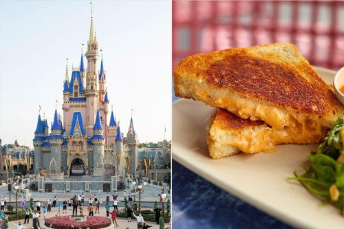 Disney World Just Dropped Their Buffalo Chicken Grilled Cheese Recipe and It's Insanely Decadent