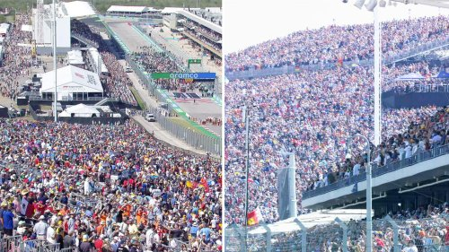 'Holy cow': World in disbelief over 'insane' scenes at US Grand Prix