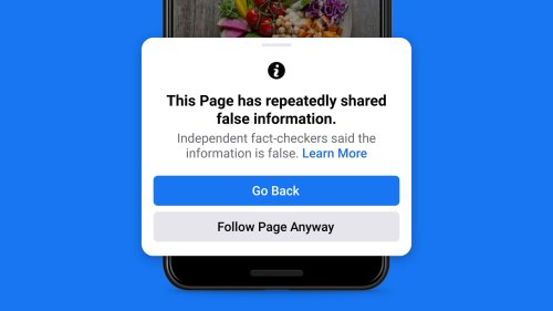 Facebook is going after misinformation superspreaders | Engadget