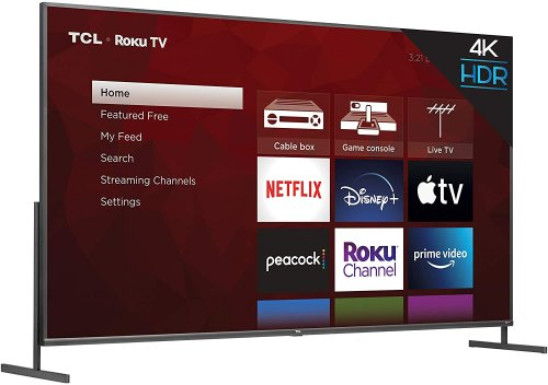 TCL's $1,600 85-inch 4K TV is now available   Engadget