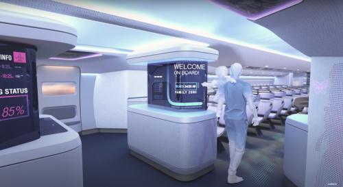 Voici à quoi pourrait ressembler l'intérieur des avions du futur