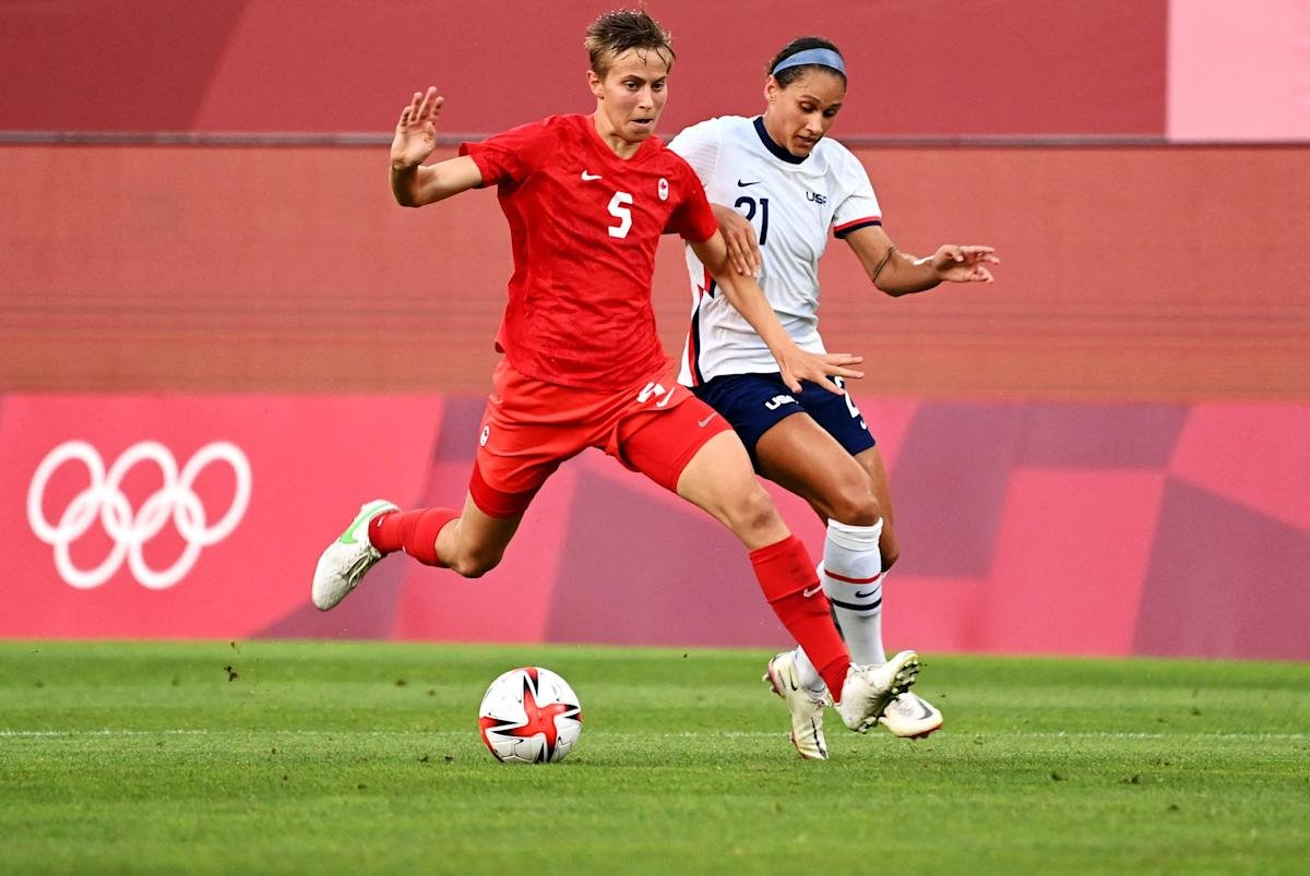 Quinn is first openly transgender athlete to secure Olympic medal after Canada's semifinal win over USWNT