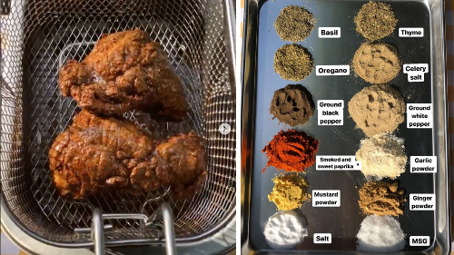 Aussie recreates KFC's 11 herbs and spices secret recipe at home