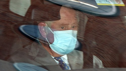 Prince Philip's final words to Prince Charles during hospital visit