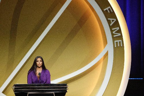 Vanessa Bryant summoned her 'Mamba Mentality' in delivering Kobe's Hall of Fame speech