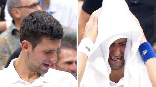 'Never seen this': Novak Djokovic in heartbreaking mid-match moment