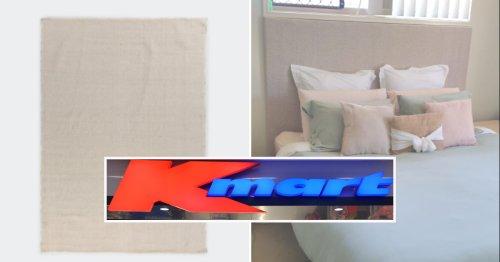 Kmart headboard hack transforms bedroom for $29: 'Love it'