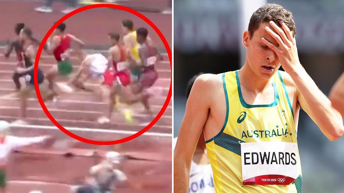 'Absolutely brutal': Aussie runner gutted in Olympics 'mayhem'