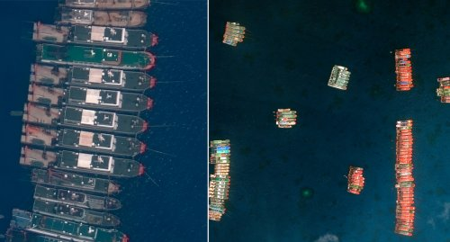 'Militia' stand-off: Structures in South China Sea spark alarm