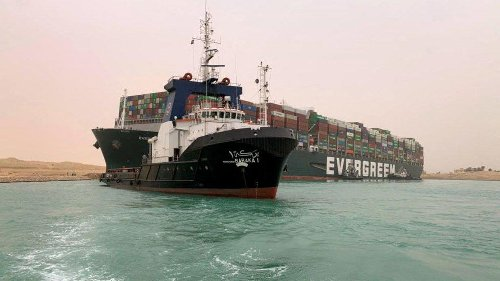 Suez blockage is holding up $9.6b of goods a day