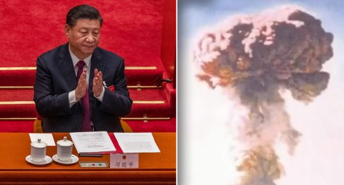 Chilling Chinese nuclear threat video shared online