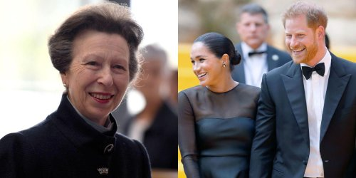 """Princess Anne Thinks Harry and Meghan's Royal Exit Was """"The Right Thing to Do"""""""