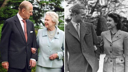 Royal romance: Prince Philip and Queen Elizabeth's love story