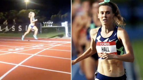 'Can't believe it': Aussie runner stuns in never-before-seen moment