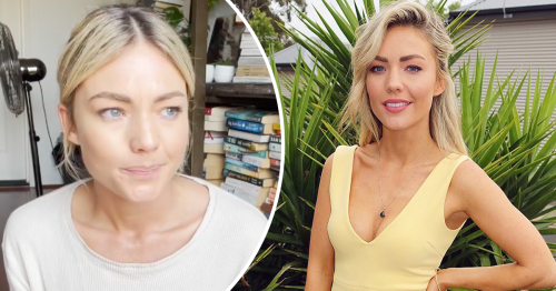 Home and Away's Sam Frost tears up admitting she isn't vaccinated