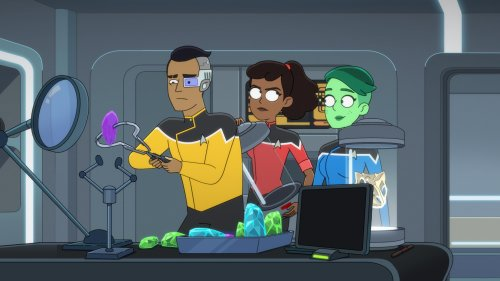 'Star Trek: Lower Decks' cleans out its literal and metaphorical closets | Engadget