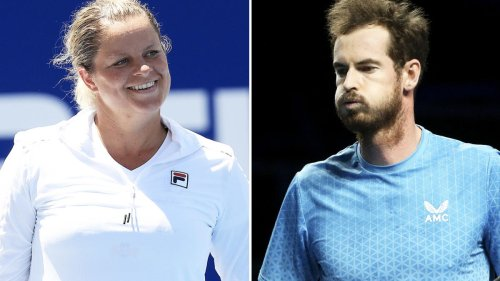 Tennis fans erupt over Kim Clijsters and Andy Murray news