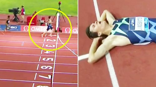 'Oh my': Athletics world in disbelief over 20-year-old's 'crazy' feat