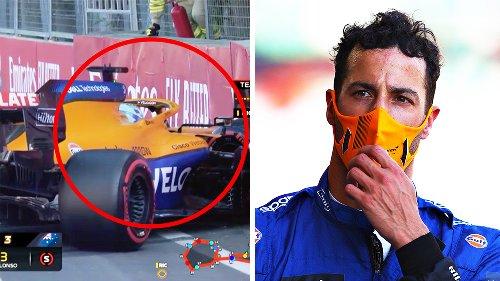 'Calm down': Daniel Ricciardo cops swipe from F1 rival after crash