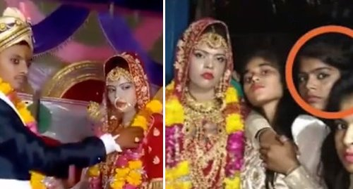 Groom marries bride's sister after she collapses and dies at wedding