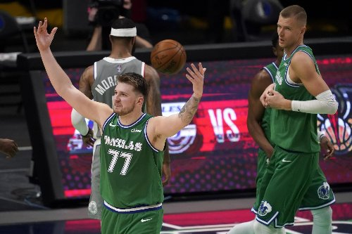 Luka Doncic stuck with 'terrible' shot and created magic vs. Clippers