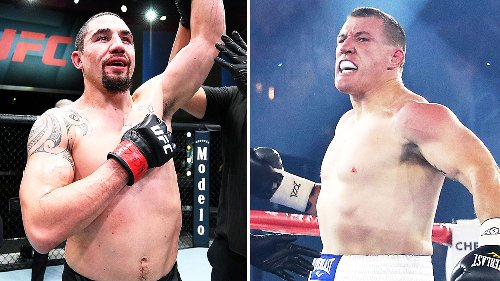 'Could be fun': Robert Whittaker teases $1.5 million Paul Gallen bout