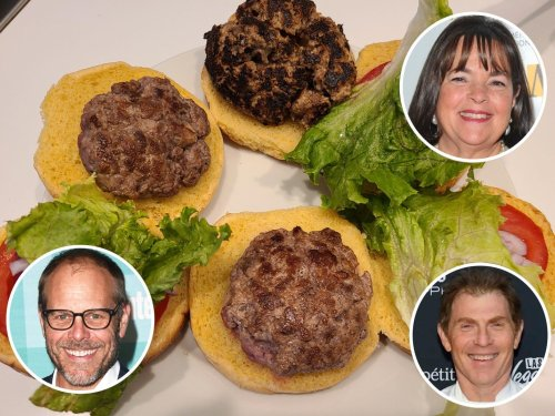 I made burgers using 3 celebrity-chef recipes, and the best had butter in the center