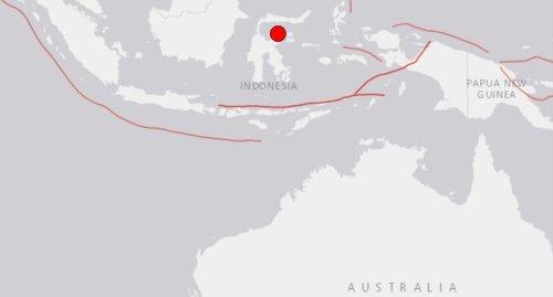 Huge earthquake strikes just off Indonesia