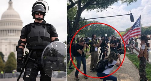 Media, Trump supporters mocked as DC rally completely fizzles
