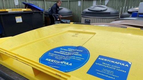 """Fortumin muovinkierrätyksen heikot luvut yllättivät jäteyhtiö Kiertokapulan: """"Ovathan ne tosi vaatimattomia"""""""