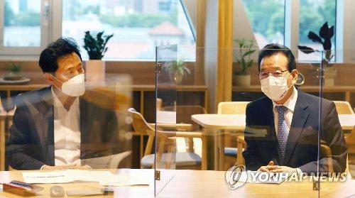 강남구청장, 吳시장에 '압구정·은마 재건축 결단' 촉구