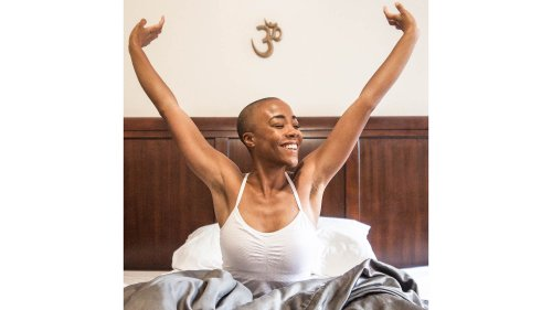 Can't Sleep? Try These 6 Restorative Yoga Poses in Bed