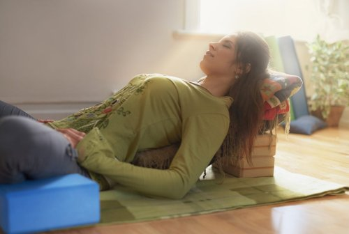 These Restorative Yoga Practices Will Help You Beat Burnout