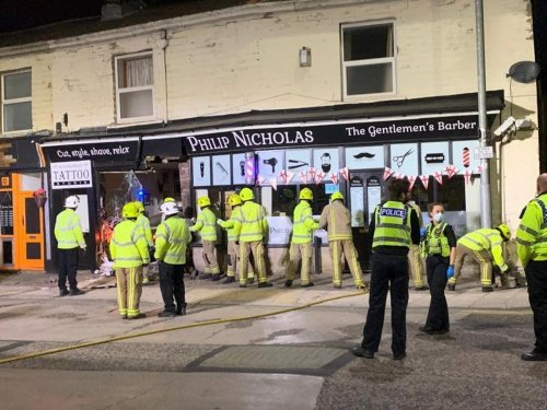 Pudsey community raises £1,250 in just hours for owners of shop destroyed by crash