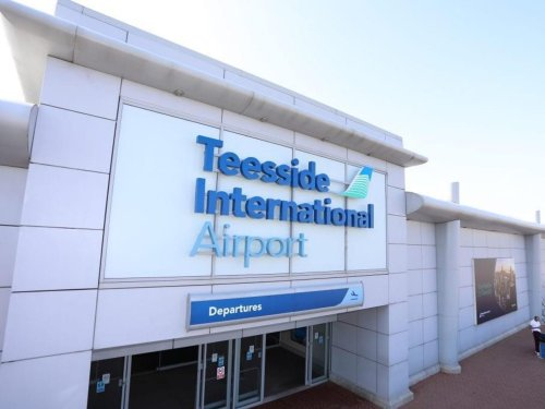 Pilot taken to hospital and runway closed 'until further notice' after incident at Teesside Airport