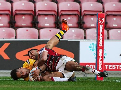 Castleford dug deep but Witgan proved two strong in battle of unbeaten teams