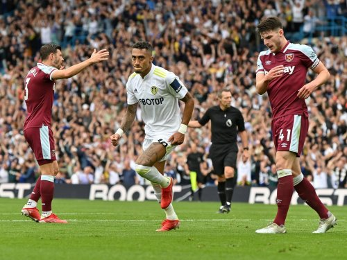 Leeds United 1 West Ham 2 - Raphinha opener proves in vain as Whites suffer late heartache against Hammers
