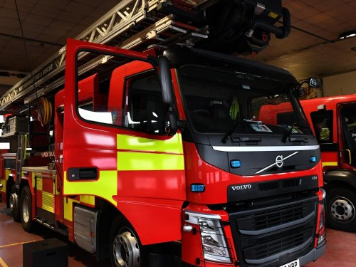 Two people treated for smoke inhalation as huge fire breaks out in industrial building in Gildersome