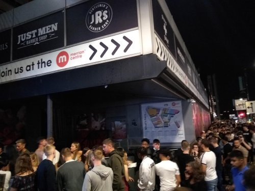 10 things you said... about the huge queues seen outside this Leeds nightclub