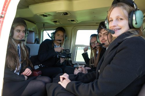 Helicopter rides and queue-jumping cited at tools to make a struggling school outstanding