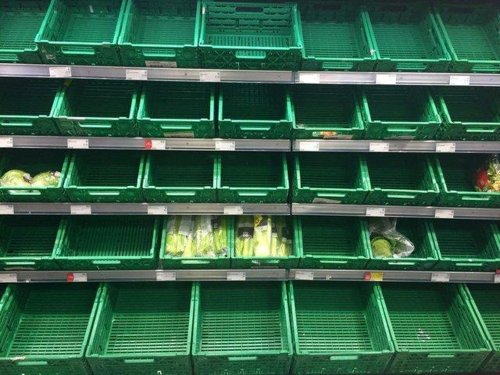10 things you said...Boris Johnson warning supermarket shelves could stay empty in the months ahead
