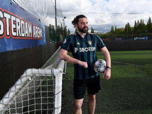 Man v Fat Dynamo Chicken Kiev Leeds footballer nets weight loss goal
