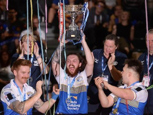 Here's how Rhinos made wheelchair RL history by completing an historic treble