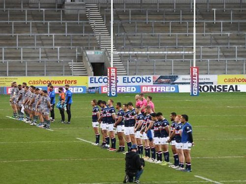 Trinity fade in second half of Challenge Cup tie after tight opening period
