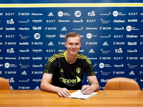 Kristoffer Klaesson hails Leeds United potential and delight at Whites deal