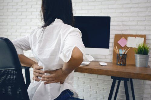Back pain is a perennial complaint for adults in the UK. But there are things you can do to make it less uncomfortable