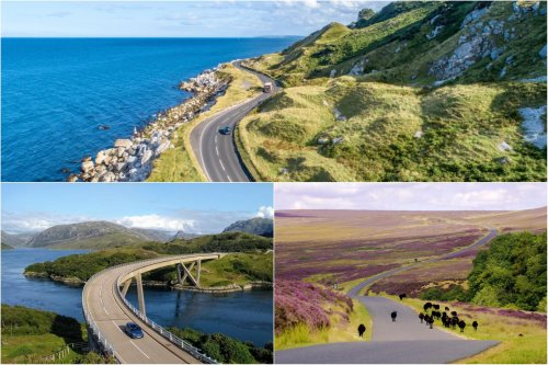 8 great UK road trips to enjoy this summer from the Scottish Highlands to the Cornish coast