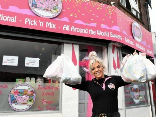 Young Leeds sweet empire entrepreneur keeps up with demand for thousands of KG a week using deliveries