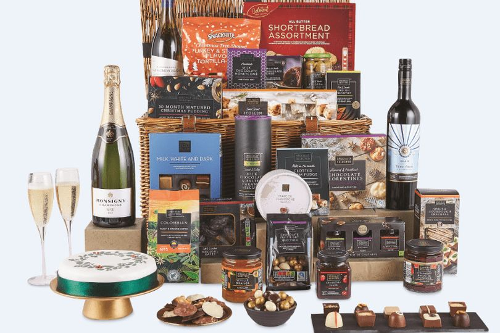 Aldi is bringing back its sell-out range of Christmas hampers - here's what's in them